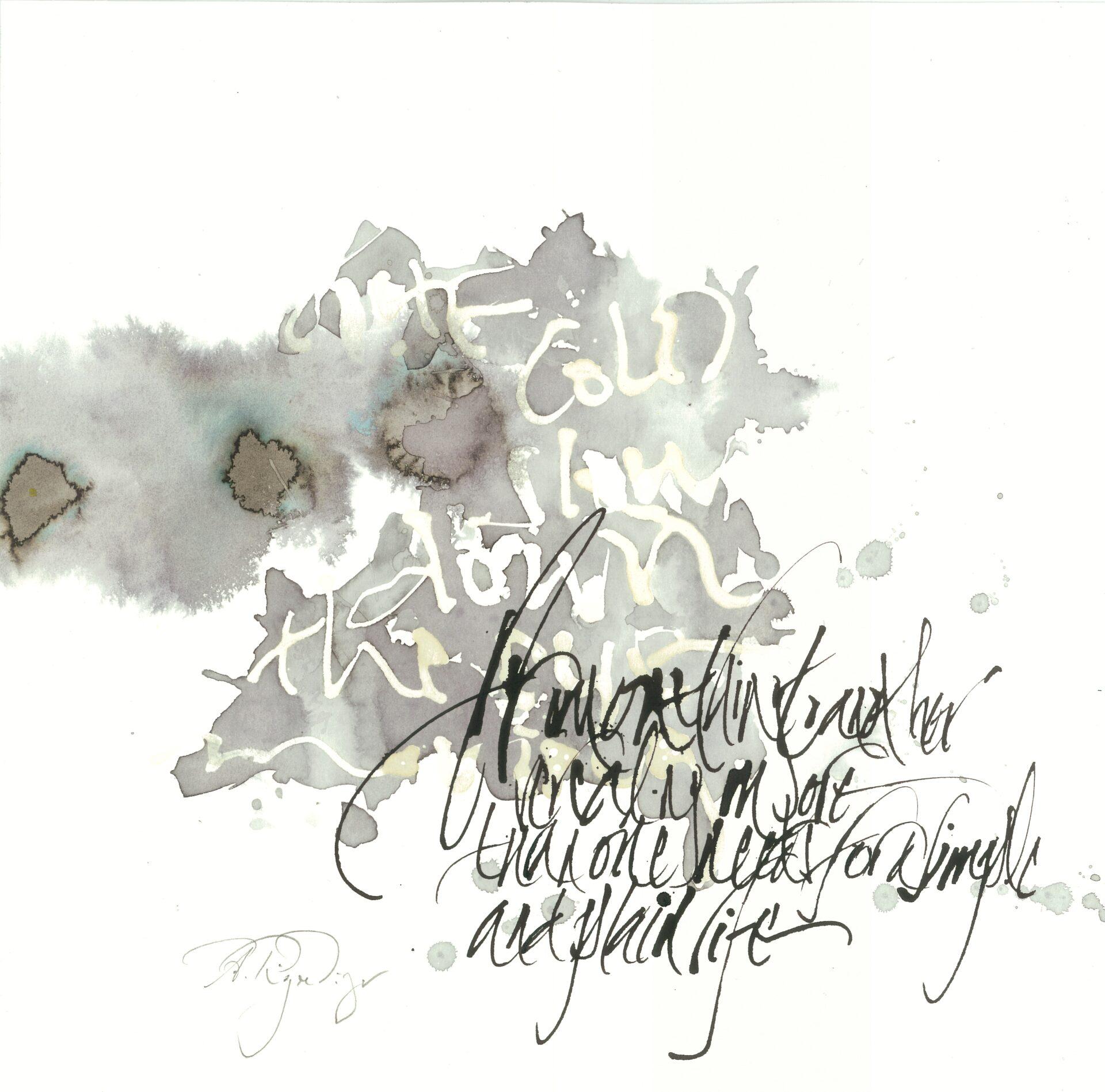 Kalligraphie Annikki Rigendinger