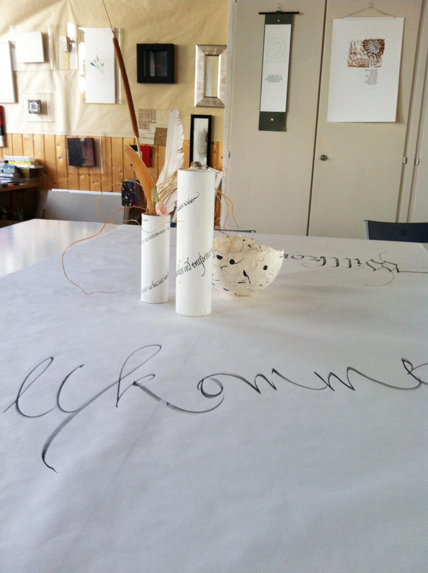 Kalligraphie-Atelier Annikki Rigendinger