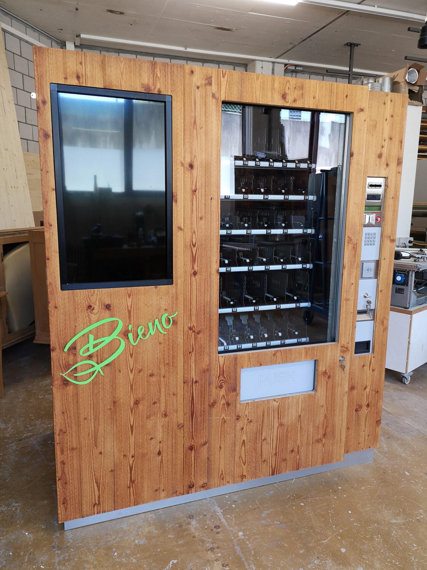 Bieno Foodautomat – Antikschreinerei Stefan Müller