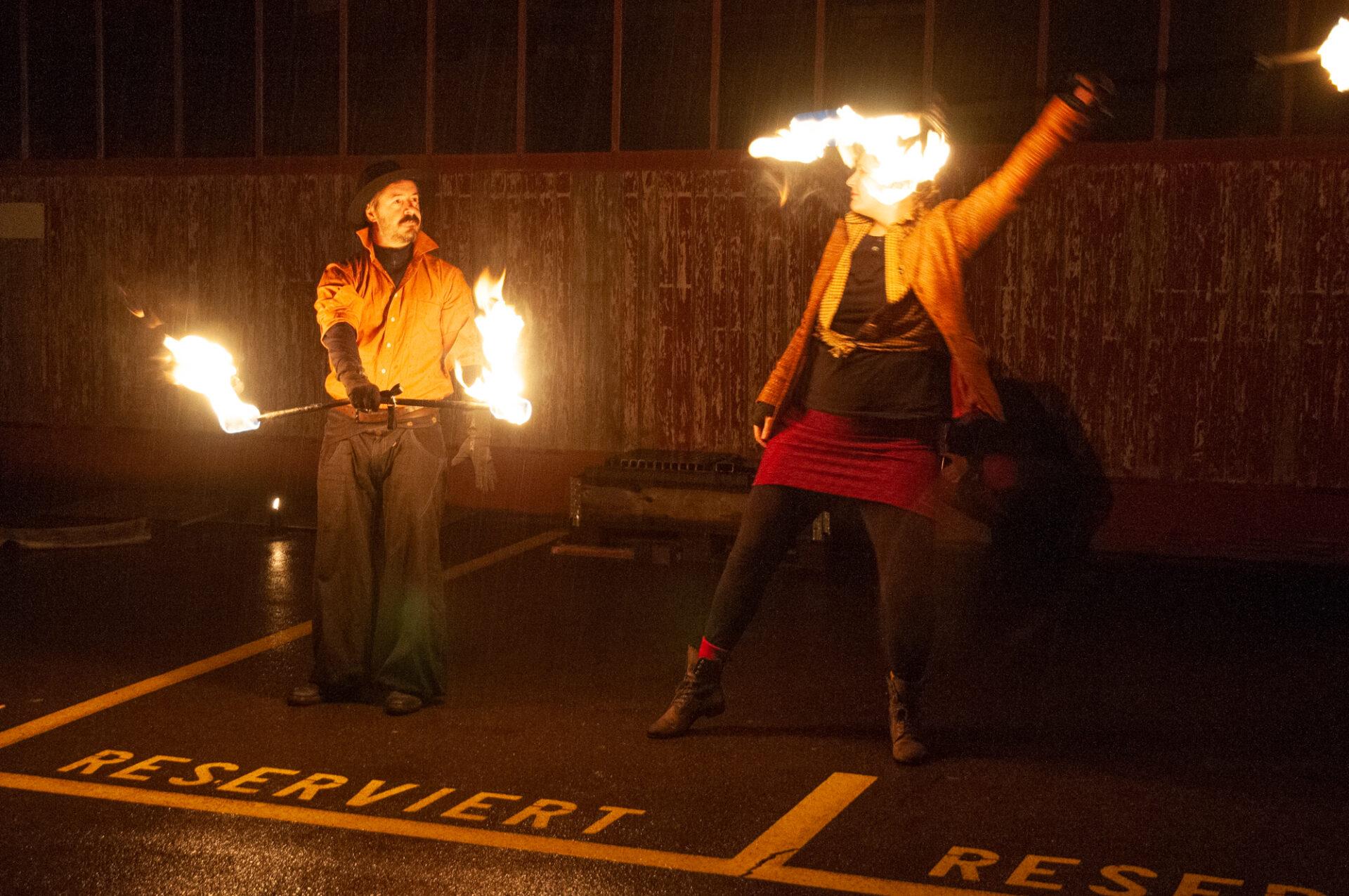 Beat Utiger Feuershow